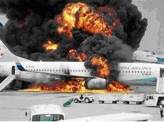 pesawatterbakar